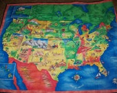 United States Map Quilt