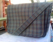 Wool Knit Messenger Bag