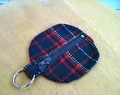 Ear Bud or Blue Tooth Key Chain Zipper Pouch.