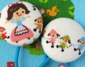 Ponytail Holders - Snow White and the Seven Dwarves