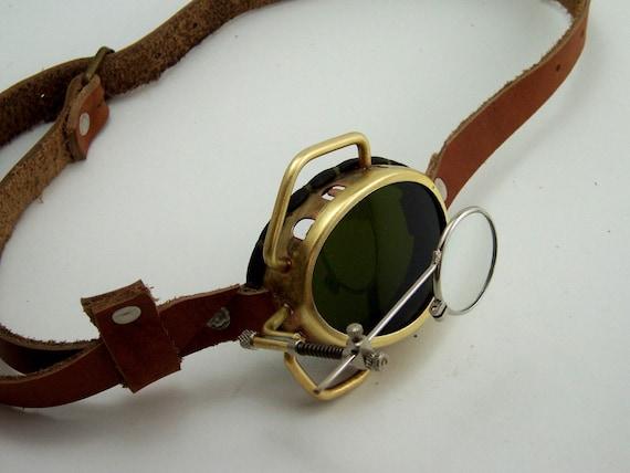 Steampunk Brass Monocle Goggles Steam Punk by BrazenDevice ...