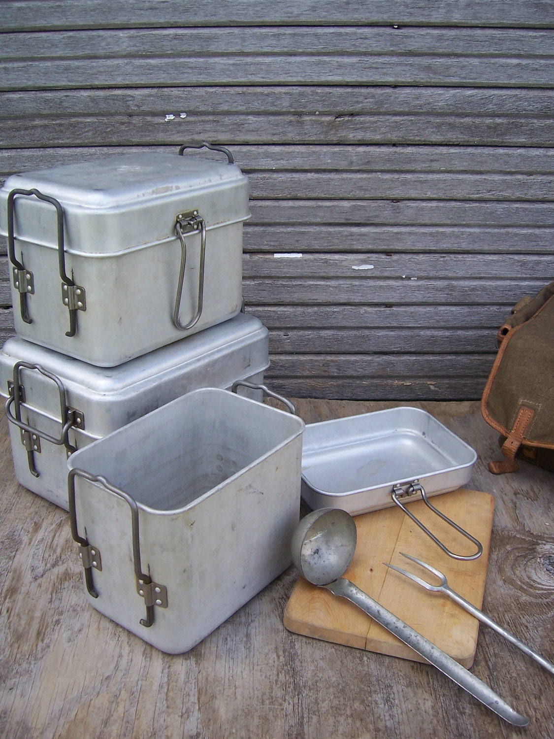 Vintage czech field kitchen set camping mess kit wwii for Kitchen set vintage