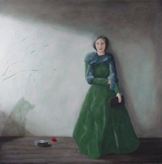 "Limited Edition Print, ""The long wait"", by Elizabeth Bauman"