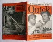 Vintage Quick Magazine with Bob Hope and Bing Crosby Baseball Cover Story