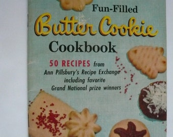 Vintage Butter Cookie Cookbook from Pillsbury