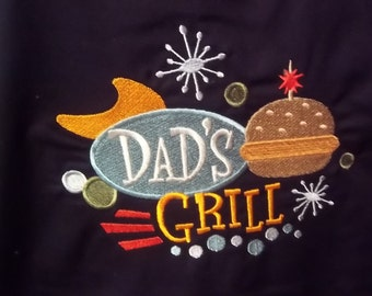 Dad's Grill Chef's Apron
