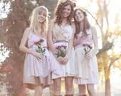 Custom Romantic Bridesmaids Dresses