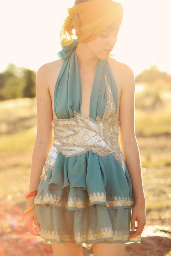 The Turquoise Birthday Dress