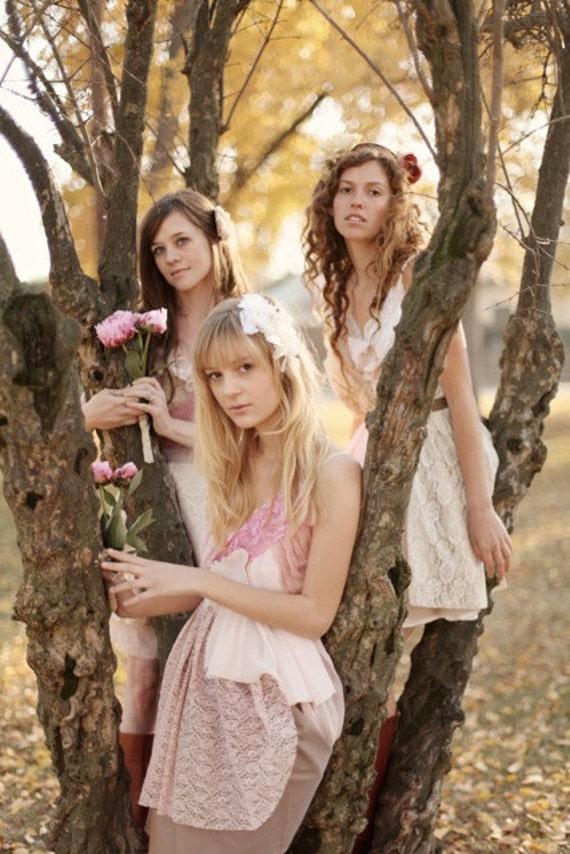 Deposits for Kristin Maulk's Custom Bridesmaids Dress and Flower Girl Dresses