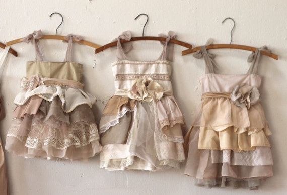 Individual Final Payments for Andrea Campbell's Custom Flower Girl Dresses