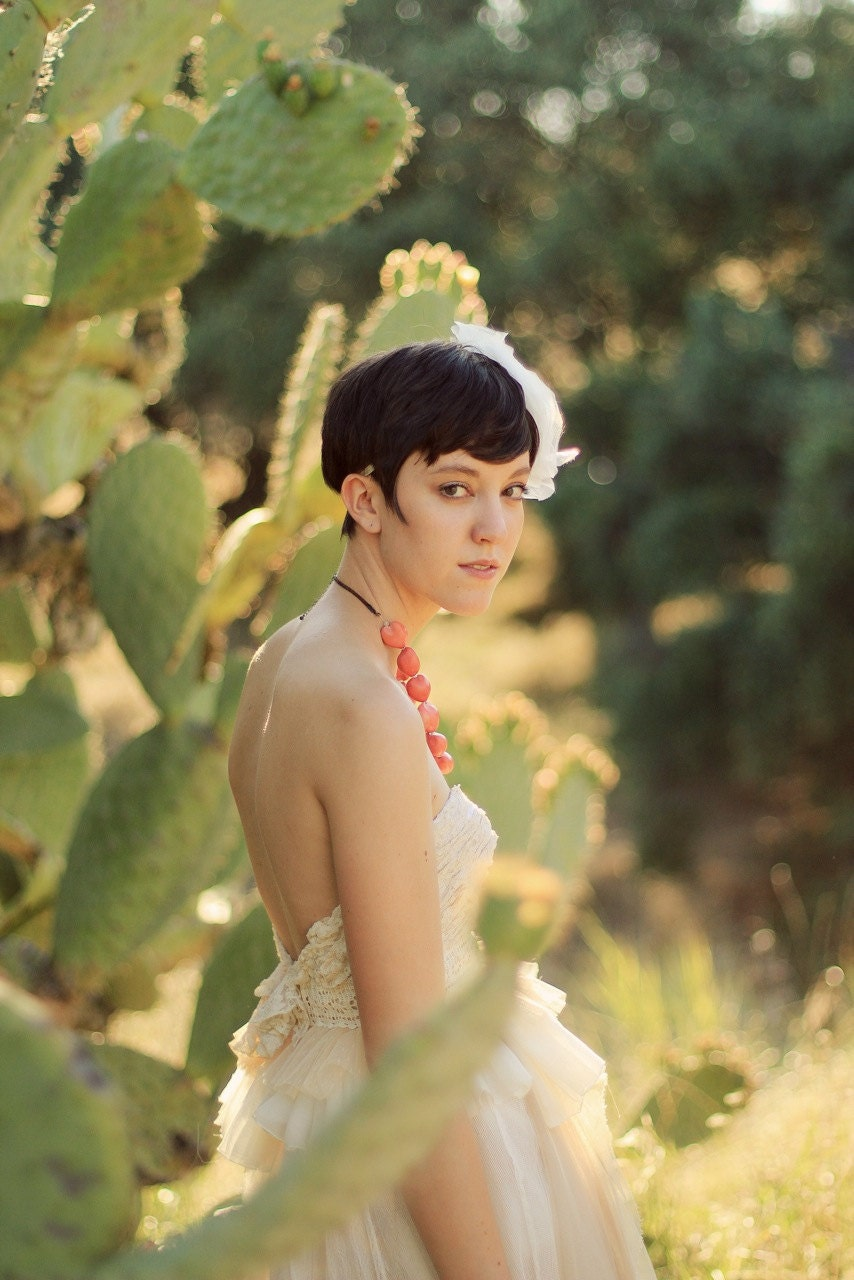 The Cactus Flower Wedding Dress
