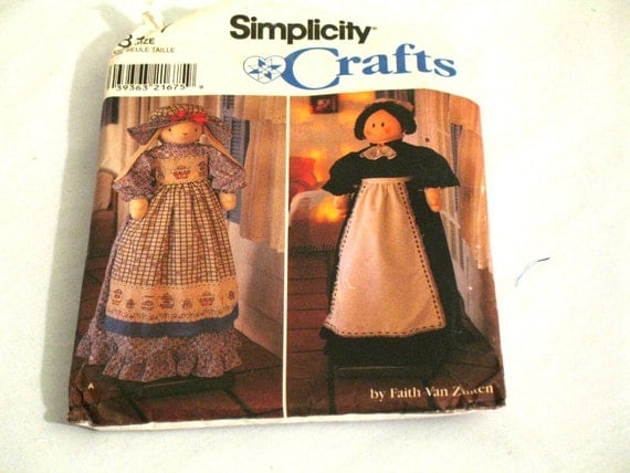 Simplicity Crafts Pattern 8177 Uncut Vacuum Cleaner Covers