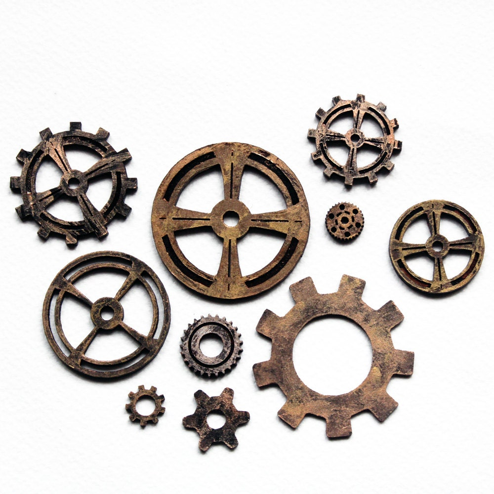 Steampunk Cogs Wheels Clock Gears for Crafts