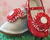 St. Valentines Shoe Clips