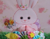 Cute As A Button - Easter Bunny YoYo Headband