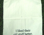I liked their old stuff better. Tote