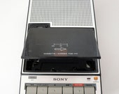 Vintage 1980 Cassette Player and Recorder by Sony (Made in Japan)
