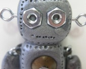 Hinged Robot Art Doll Binary Code Name 1011