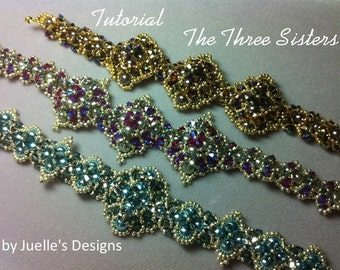Tutorial for The Three Sisters Bracelet