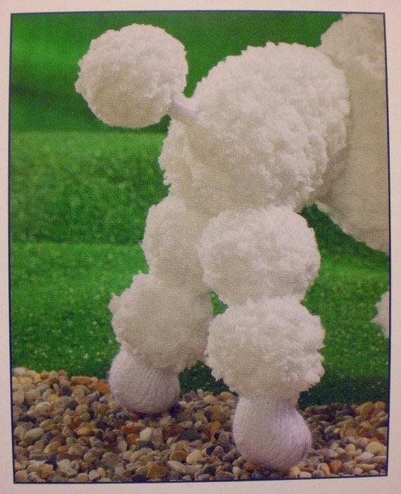 ALAN DART Sirdar Poodle Dog Toy Knitting Pattern by ...