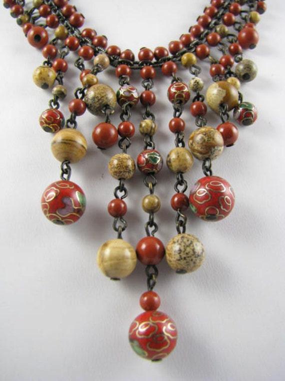 Cloisonne Falls Necklace
