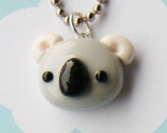 Koala Necklace  (D1E4)