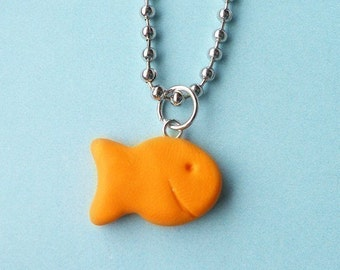 Goldfish Necklace  (R4A-A1)