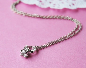 Diamond Ring Necklace
