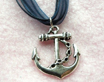 Naughty Nautical Necklace  (R2E3)
