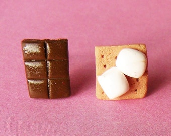 Smore Earring Studs