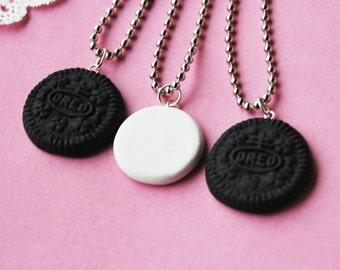 Oreo Best Friends Necklace - Set of 3  (R2F4)