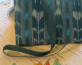 Messenger Bag for iPad of Guatemalan Fabric