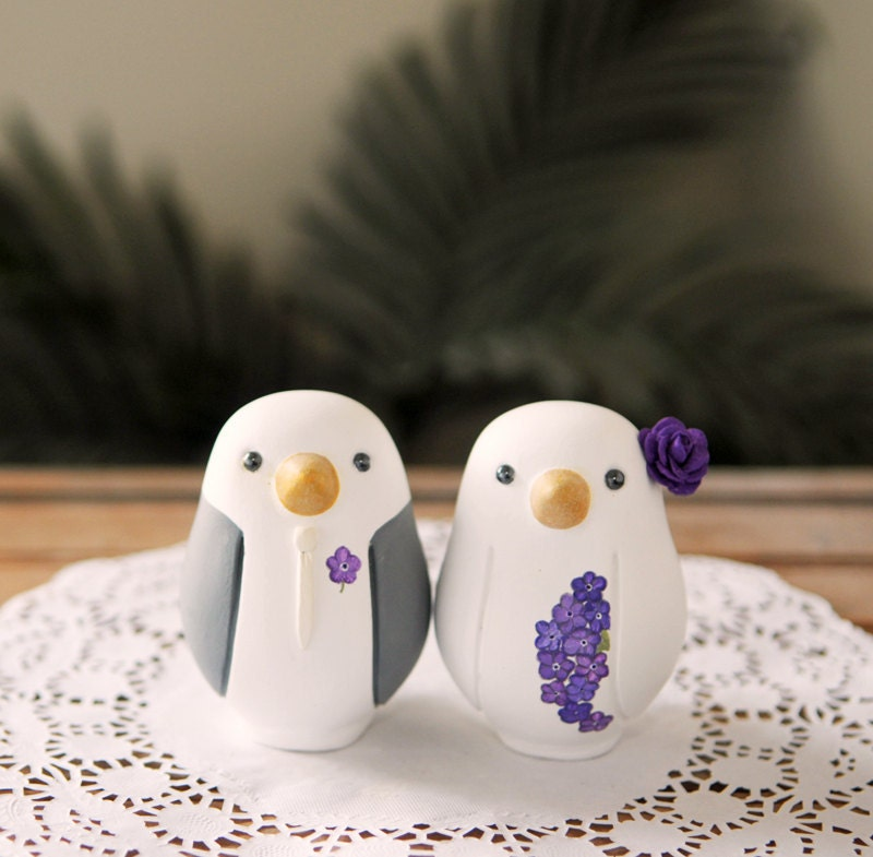 Wedding Cake Topper Love Bird Cake Topper Medium