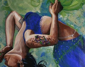 Nadia - An Original Acrylic Painting