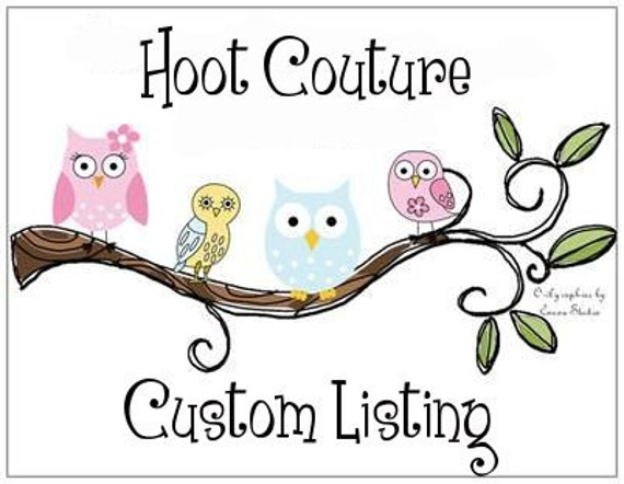 Custom listing for karenbutler2