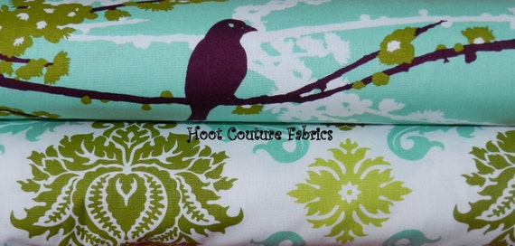 2 yard Bundle from the Aviary 2 Collection by Joel Dewberry for Free Spirit Fabric
