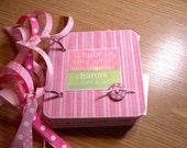 Baby Girl Mini Album Chipboard Scrapbook