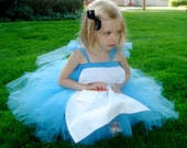 Reserved for Ella102 - OOAK ALiCe iN WoNdERLaND Tutu Dress Costume