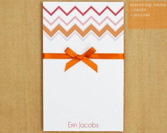 Personalized Stationary - Chevron Number 1