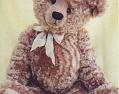 """24"""" Richard Bear Pattern by Linda Johnson of BEARDEAUX BEARS"""