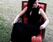 Black Vintage Formal Dress