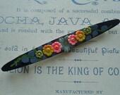 Vintage Art Deco Flower Celluloid Pin
