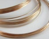 Bronze Wire for Jewelry 24 Gauge Soft 50 Feet