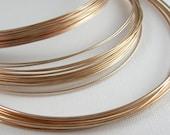 Bronze Wire for Jewelry 18 Gauge Round Soft 12.5 Feet