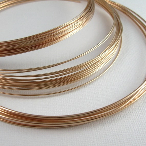 Bronze Wire for Jewelry 24 Gauge Soft 50 Feet