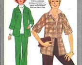 1977 SIMPLICITY 8250 Unlined Jacket Pants UNCUT Pattern Size 22 24 26 28