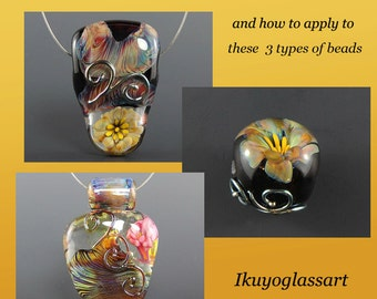 Tutorial: Implosion Flowers and how to apply to 3 types of beads