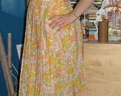Vintage Spring Floral Dress