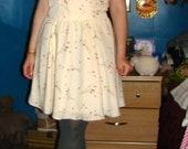 vintage flowy dress xs/small