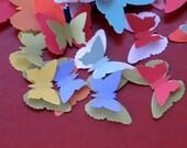 Paper Butterflies - dimensional - mix of 50